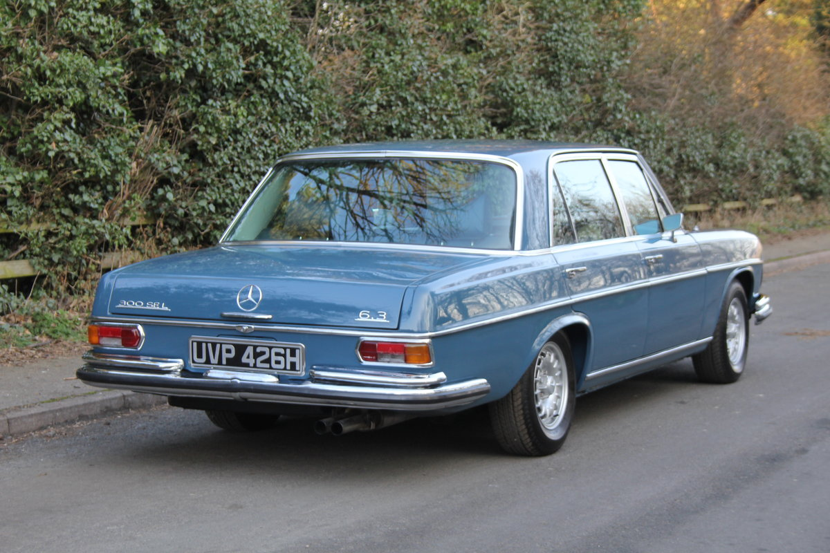 1970 Mercedes Benz 300SEL 6.3 - Low Mileage of 70,000 Recorded SOLD (picture 5 of 12)
