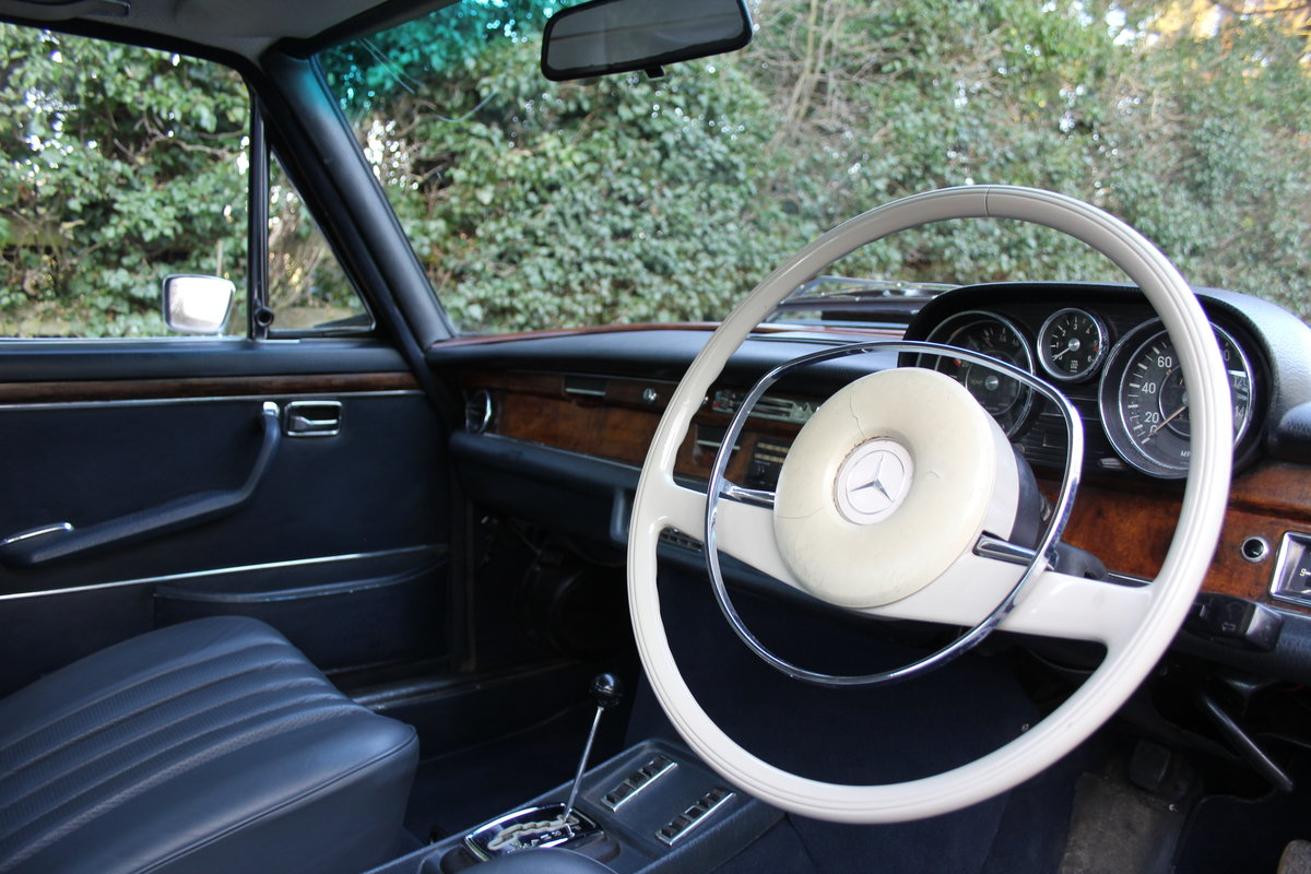 1970 Mercedes Benz 300SEL 6.3 - Low Mileage of 70,000 Recorded SOLD (picture 7 of 12)