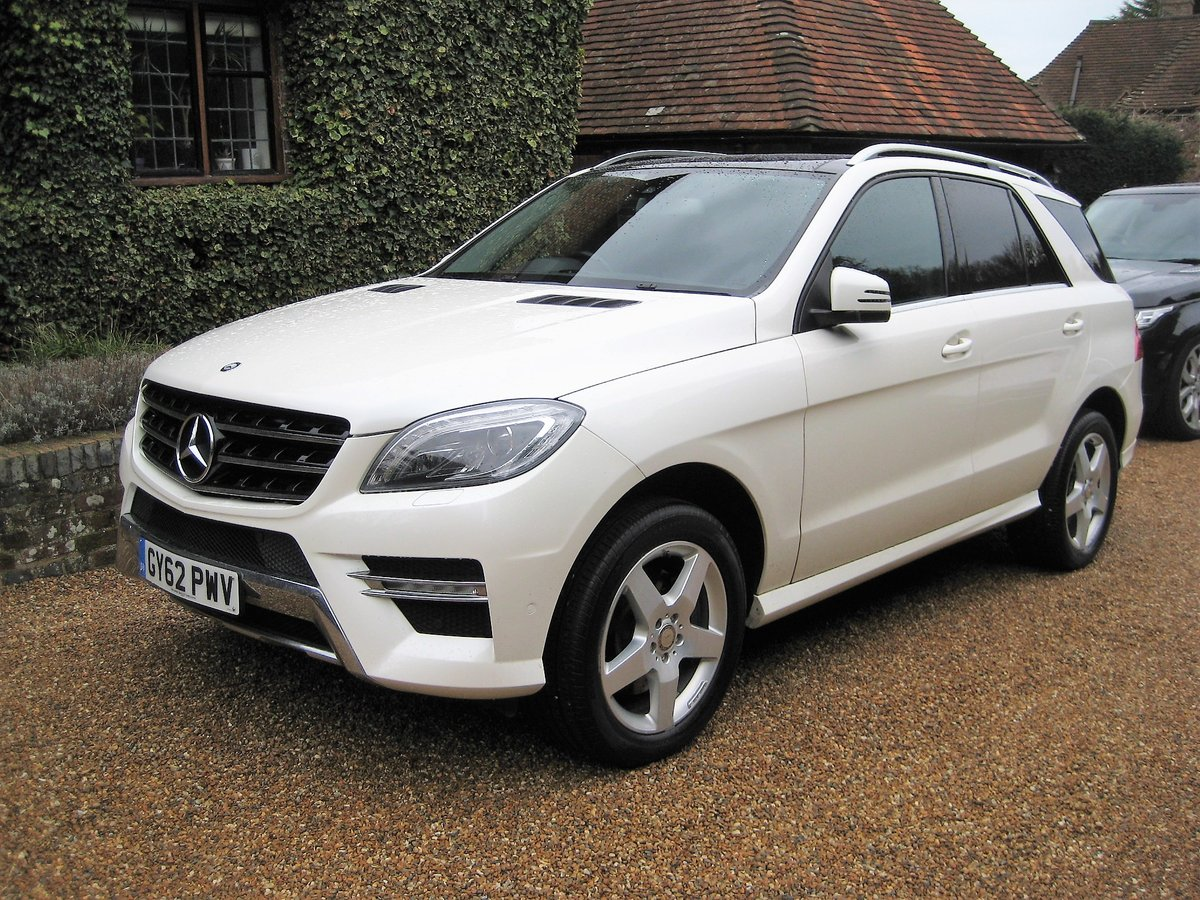 2012 Mercedes Benz ML350 Bluetec Sport Pan Roof + Full Leather For Sale (picture 1 of 6)