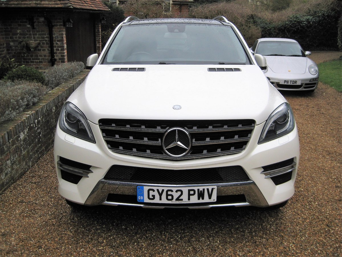 2012 Mercedes Benz ML350 Bluetec Sport Pan Roof + Full Leather For Sale (picture 6 of 6)