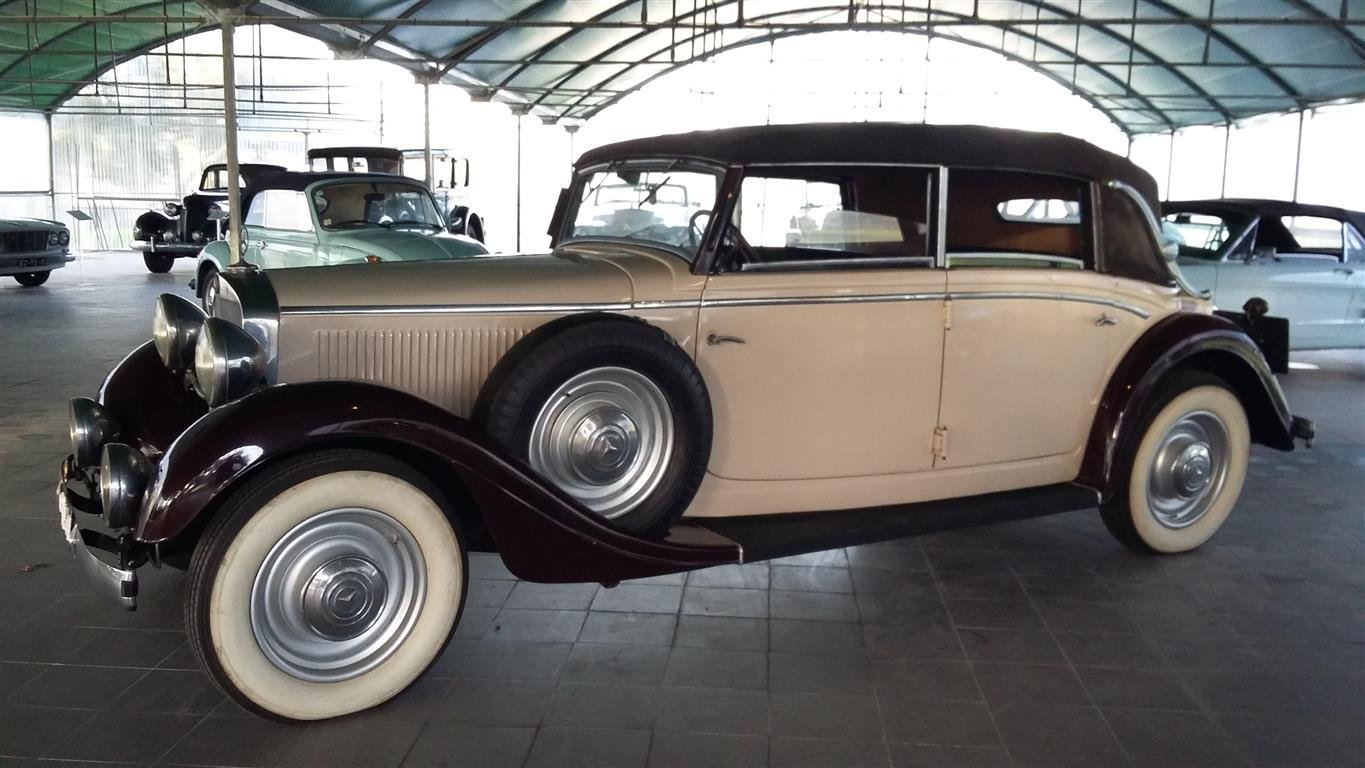 1938 Mercedes 290 Lang Cabriolet SOLD (picture 1 of 6)