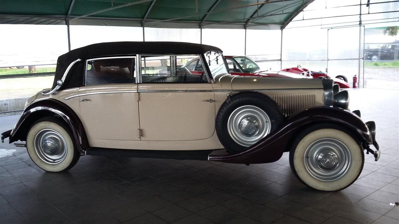 1938 Mercedes 290 Lang Cabriolet SOLD (picture 4 of 6)