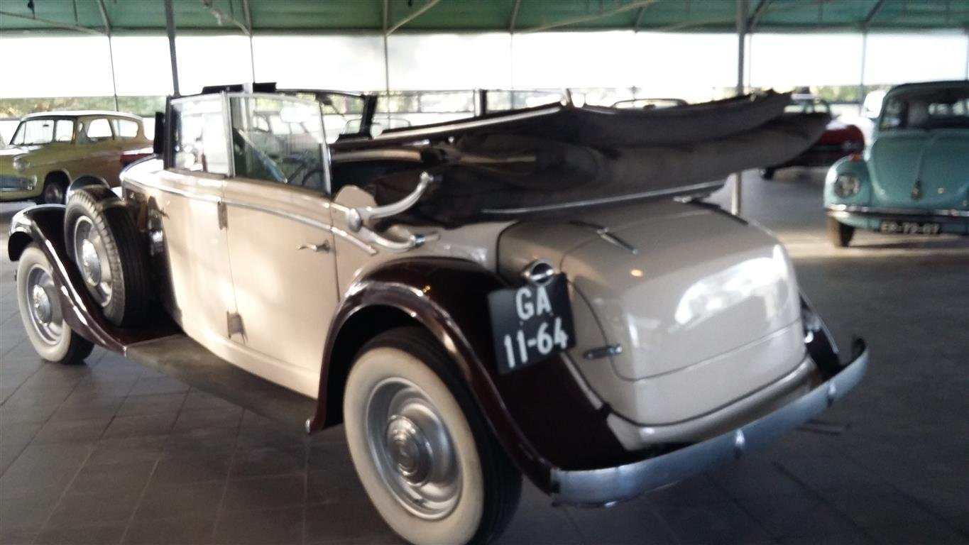 1938 Mercedes 290 Lang Cabriolet SOLD (picture 6 of 6)
