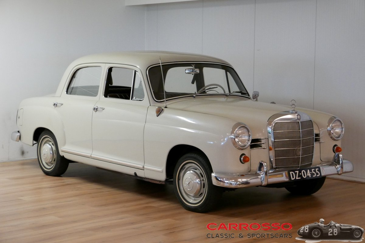 1960 Mercedes Benz 180 Ponton W120 Saloon For Sale (picture 1 of 6)