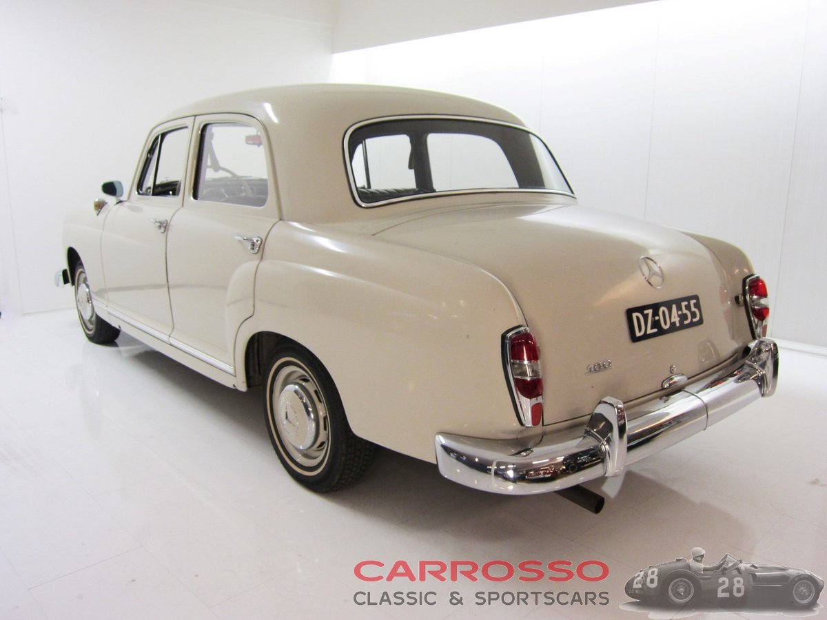 1960 Mercedes Benz 180 Ponton W120 Saloon For Sale (picture 2 of 6)