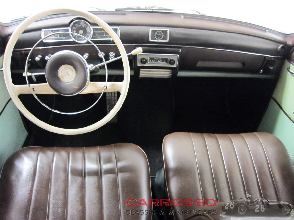 1960 Mercedes Benz 180 Ponton W120 Saloon For Sale (picture 3 of 6)