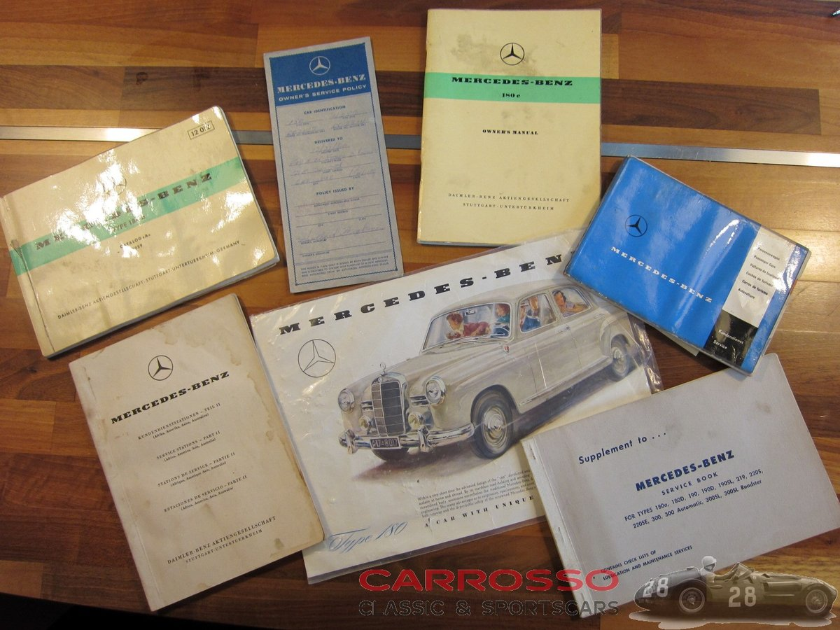 1960 Mercedes Benz 180 Ponton W120 Saloon For Sale (picture 5 of 6)