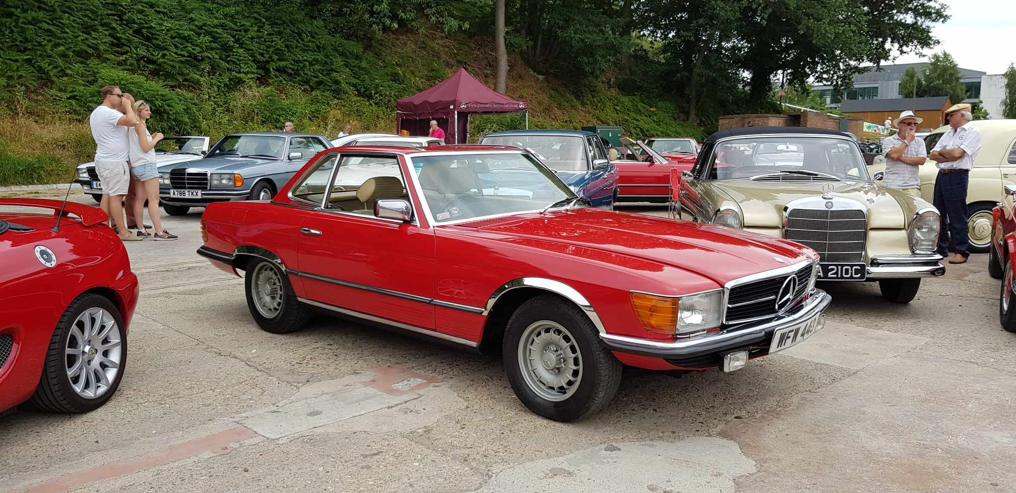 1980  350SL Hard and soft top  For Sale (picture 1 of 6)