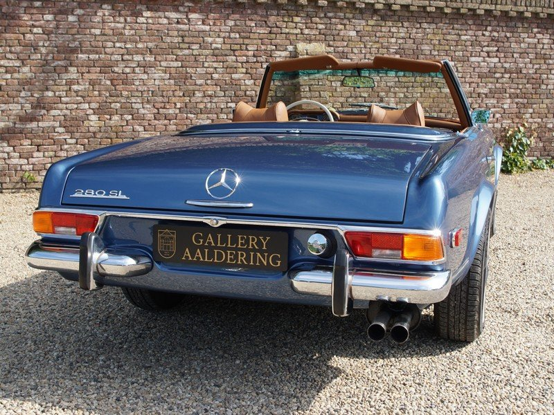1971 Mercedes Benz 280SL Pagode fully restored condition! For Sale (picture 6 of 6)