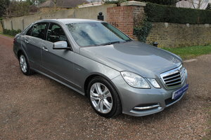 2011 Stunning E350 3.0 CDi Avantgarde Automatic Blue Efficiency SOLD