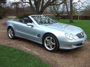 2006(55) Mercedes SL500 Tellurium Silver only 48000 miles For Sale
