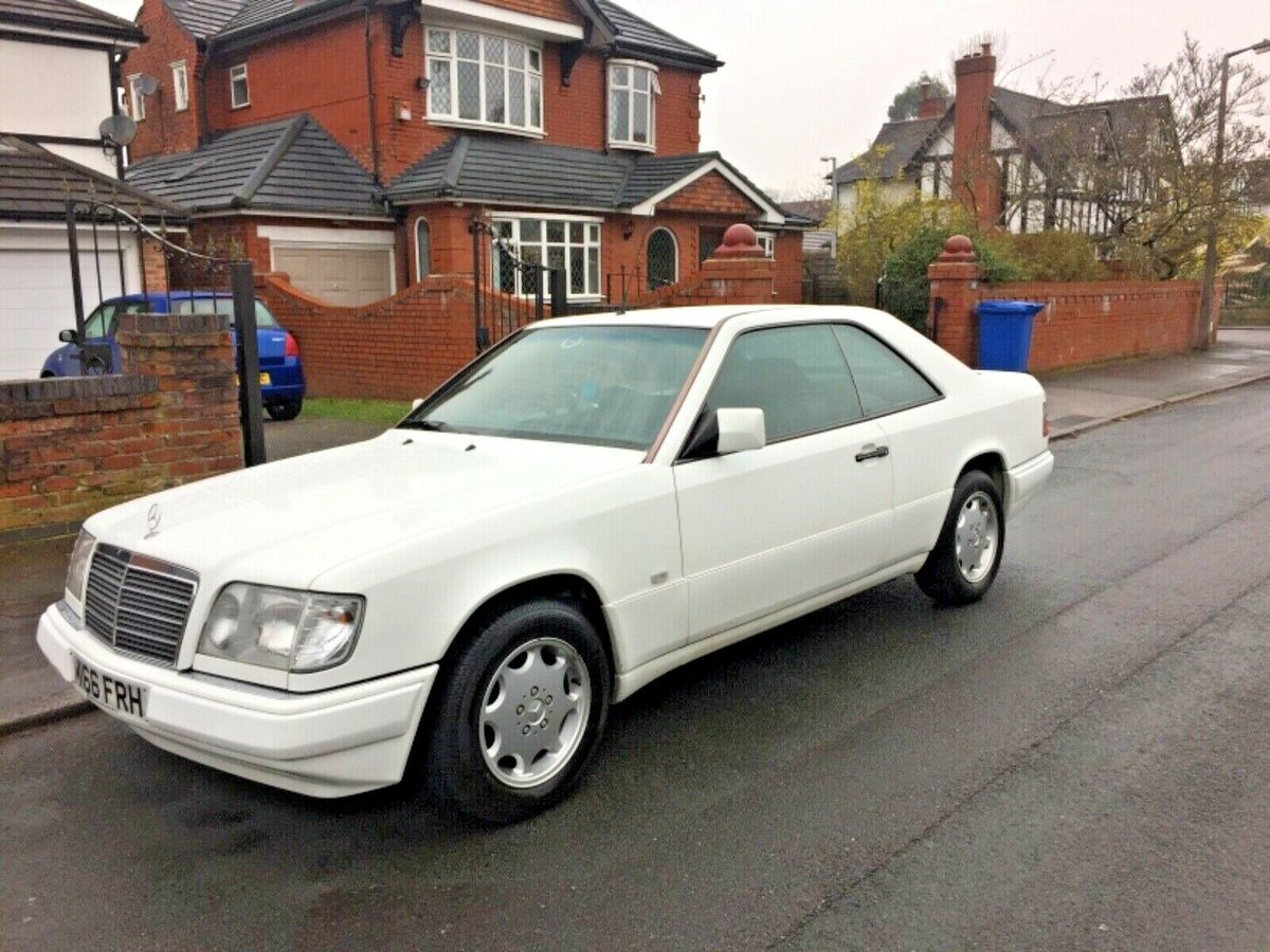 1994 Mercedes E220 coupe ( w124 ) lovely low milage For Sale (picture 1 of 6)