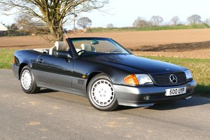 1991 (H) Mercedes 500SL-32 Automatic with just 45,494 miles