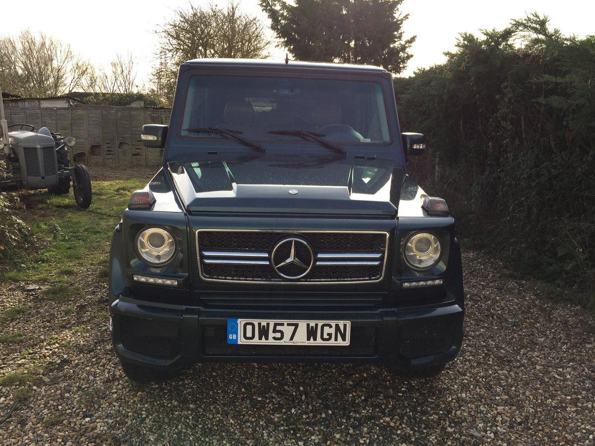2007 Mercedes G Wagon LHD For Sale (picture 2 of 6)