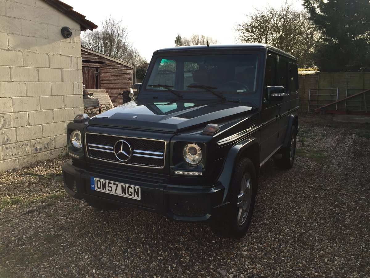2007 Mercedes G Wagon LHD For Sale (picture 3 of 6)