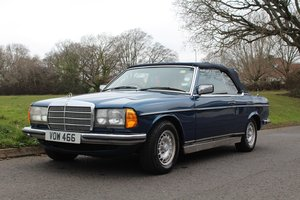 Mercedes 280CEW by Crayford 1979 - To be auctioned 26-04-19