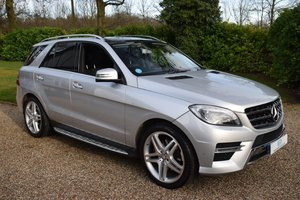 2015 Mercedes ML350 CDI BlueTEC Euro6 AMG Line Premium For Sale