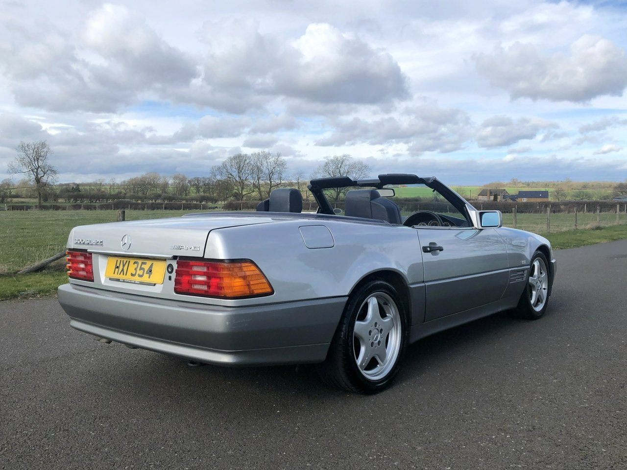 1990 Mercedes Benz 300 SL-24V R129 Automatic For Sale (picture 3 of 6)