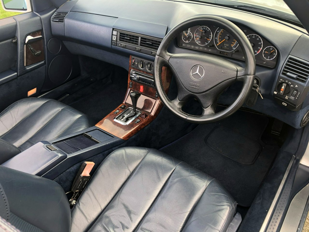1990 Mercedes Benz 300 SL-24V R129 Automatic For Sale (picture 5 of 6)