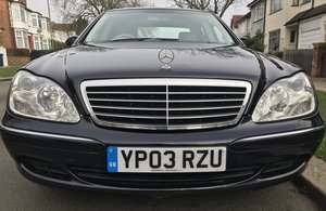 Mercedes S Class S320 CDi W220 facelift Blue 2003 For Sale