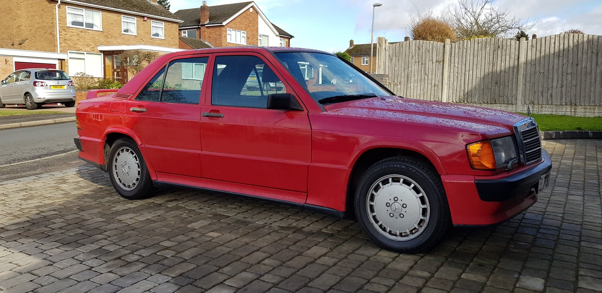 1985 Mercedes 190e 2.0 with factory Cosworth kit SOLD (picture 1 of 6)