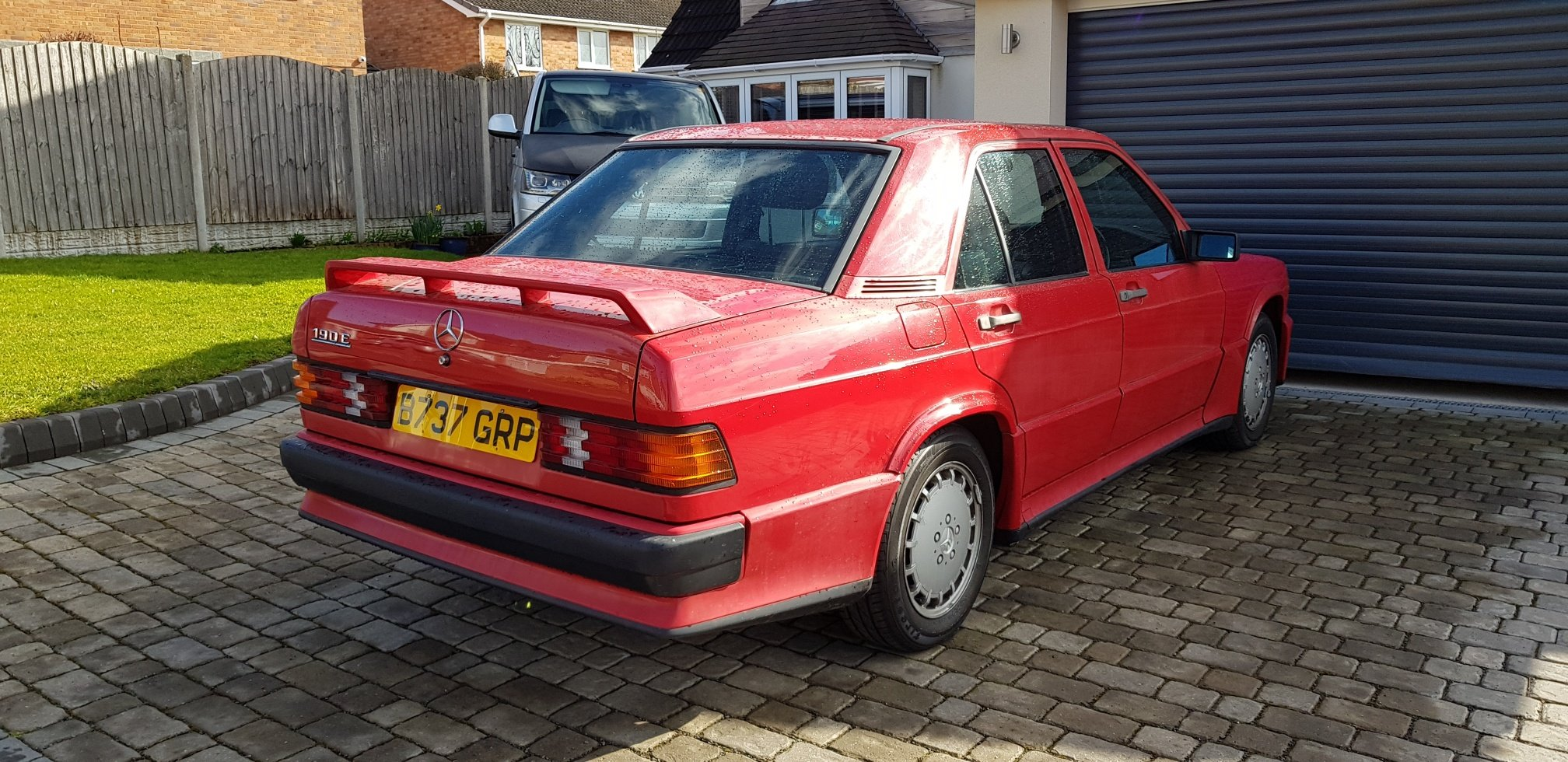 1985 Mercedes 190e 2.0 with factory Cosworth kit SOLD (picture 2 of 6)