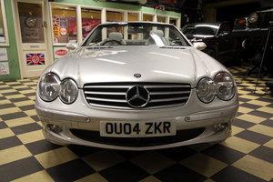 2004 MERCEDES BENZ 500 SL For Sale