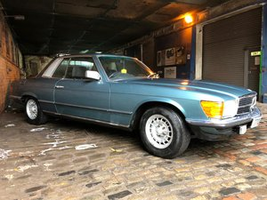 1980 Mercedes 380SLC - Just 41.000 miles and two keepers For Sale by Auction