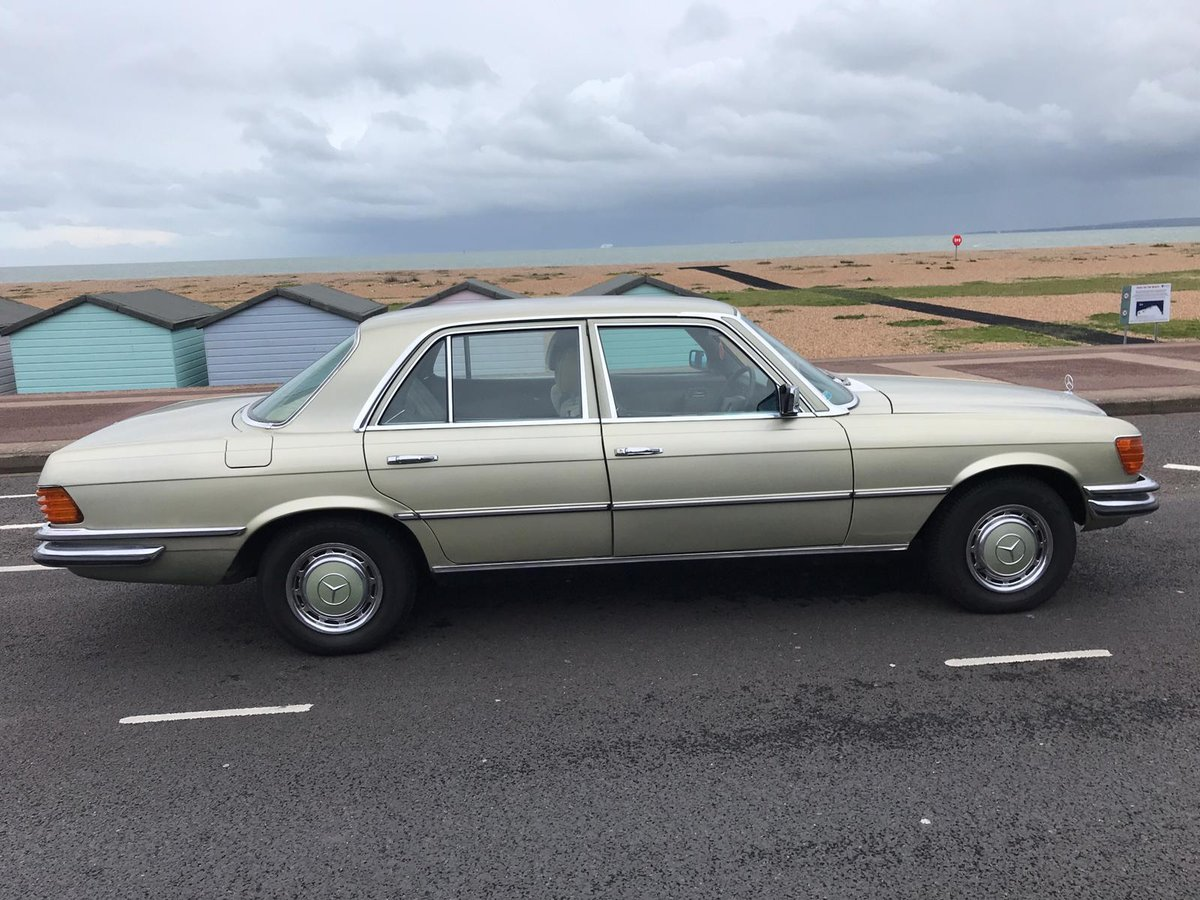Mercedes-Benz 280 SE 2.7 1978 Plate For Sale (picture 1 of 5)