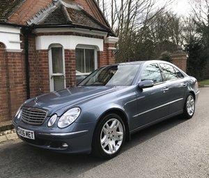 2006 Mercedes E320 CDI Elegance £6k of factory upgrades For Sale
