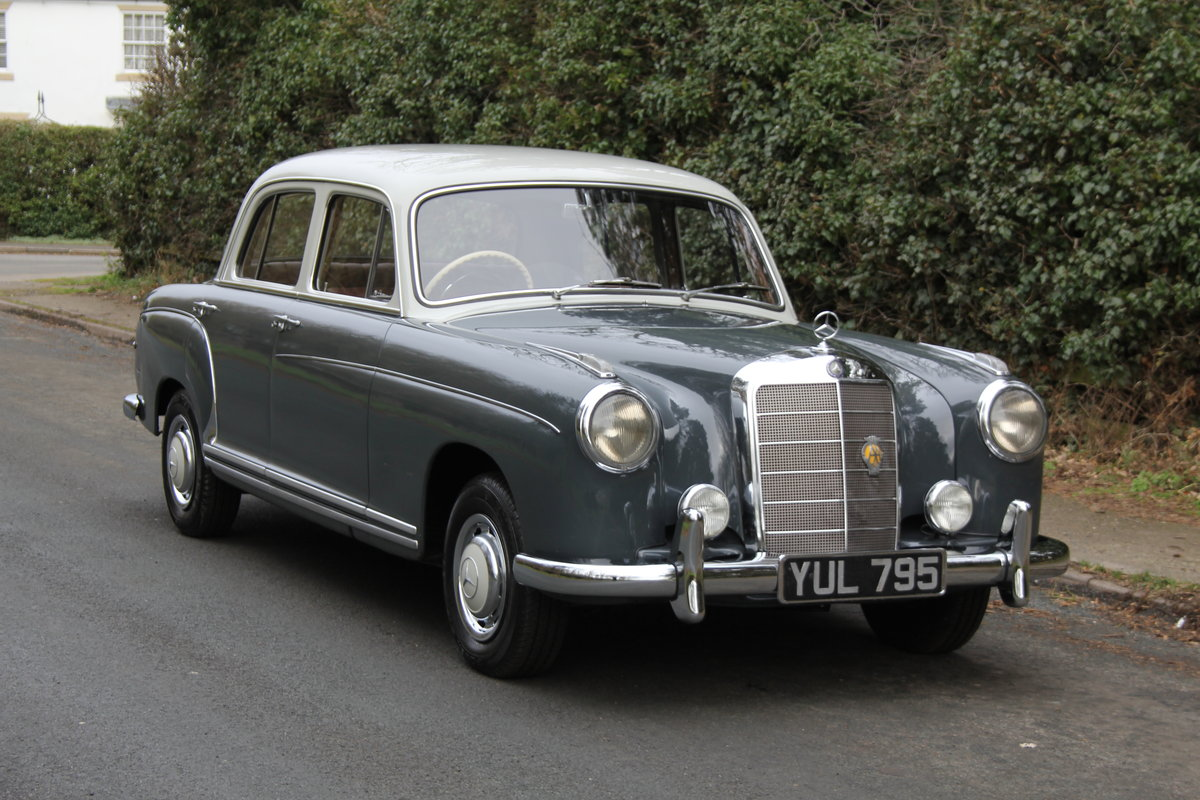 1958 Mercedes 220S Ponton, RHD 1 owner 56 yrs, 76k miles For Sale (picture 1 of 12)