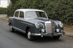 1958 Mercedes 220S Ponton, RHD 1 owner 56 yrs, 76k miles For Sale