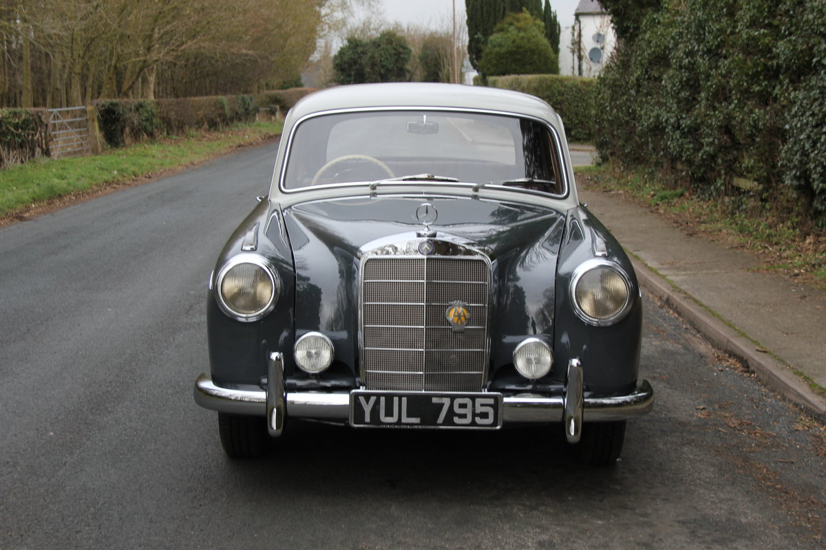 1958 Mercedes 220S Ponton, RHD 1 owner 56 yrs, 76k miles For Sale (picture 2 of 12)