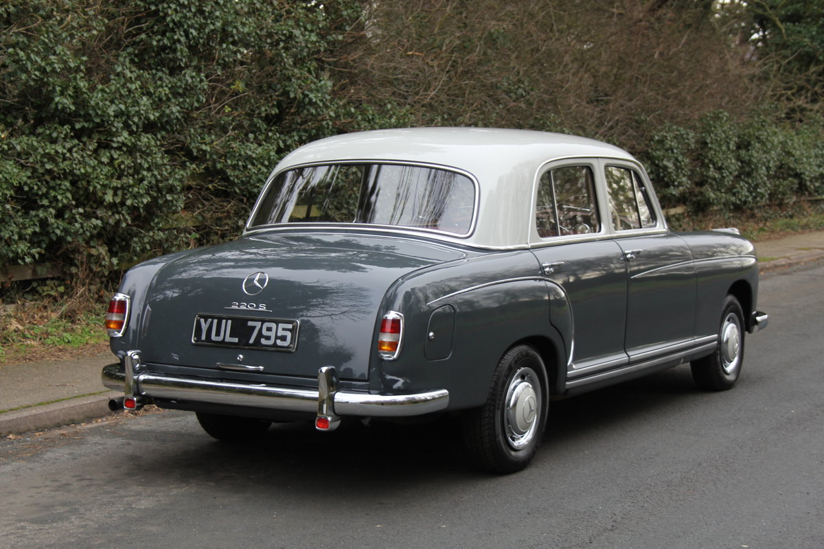 1958 Mercedes 220S Ponton, RHD 1 owner 56 yrs, 76k miles SOLD (picture 5 of 12)