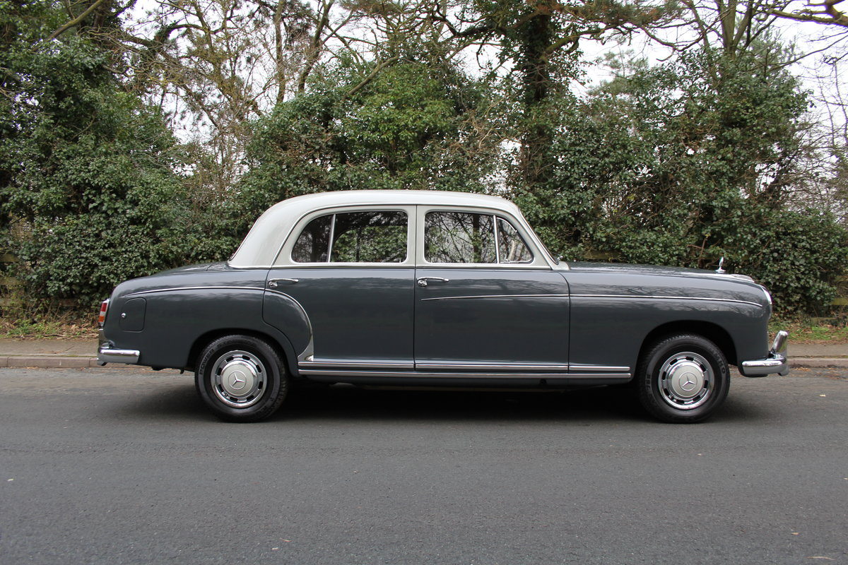1958 Mercedes 220S Ponton, RHD 1 owner 56 yrs, 76k miles For Sale (picture 6 of 12)