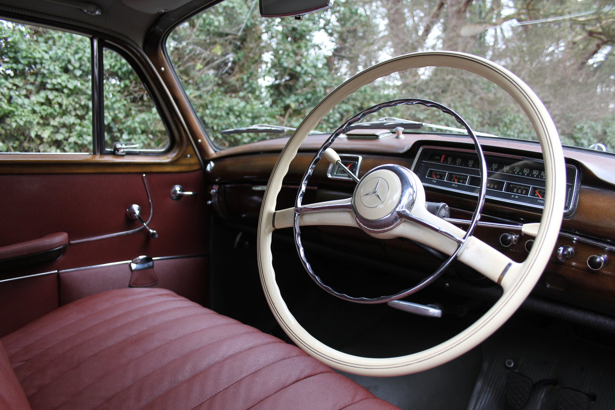 1958 Mercedes 220S Ponton, RHD 1 owner 56 yrs, 76k miles For Sale (picture 7 of 12)