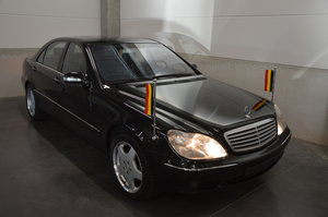 2002 S 63 amg  1/70  built ex king owner car l.h.d. For Sale
