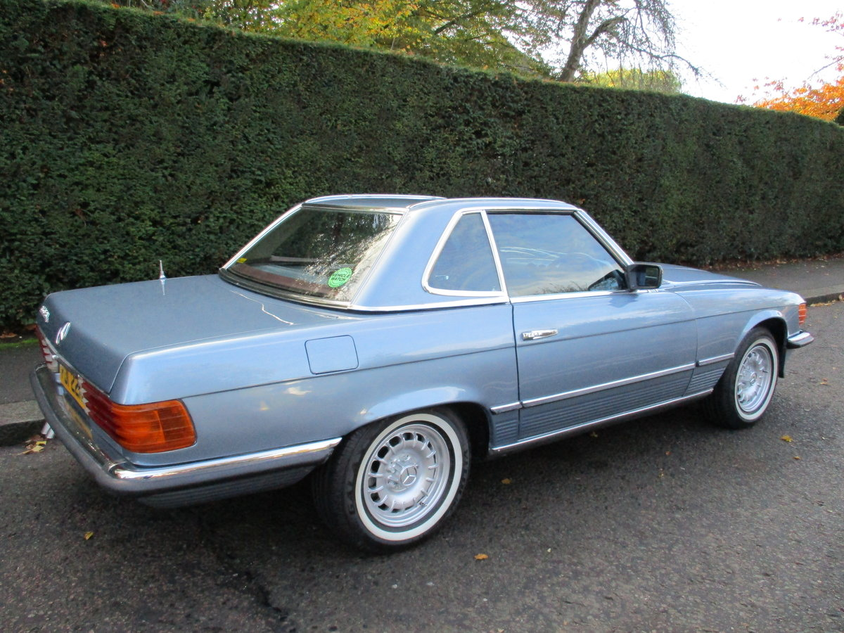 MERCEDES 350 SL AUTO 1977 STUNNING LOW MILEAGE H & S TOPS For Sale (picture 10 of 10)