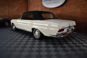 1967 Mercede 250SE Cabriolet = Ivory(~)Red Auto $119.5k For Sale