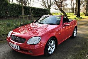 2001 Mercedes SLK230 Kompressor - Just 23800 miles only For Sale by Auction