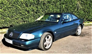 2000 Mercedes SL280 V6 For Sale by Auction