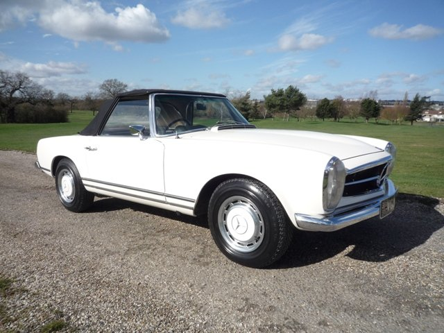1968 Mercedes 280SL Pagoda RHD For Sale (picture 1 of 6)