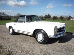 1968 Mercedes 280SL Pagoda RHD For Sale
