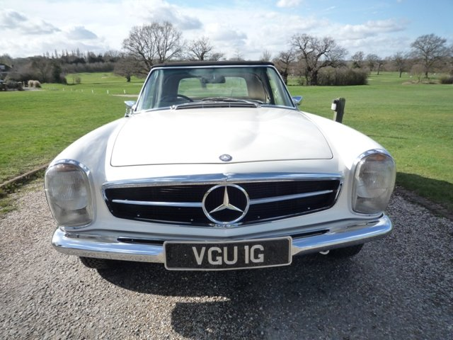 1968 Mercedes 280SL Pagoda RHD For Sale (picture 2 of 6)