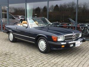 1988 Mercedes-Benx 560 SL Aut. Convertible