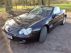 2005 Mercedes-Benz SL 350 For Sale by Auction