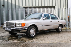 1976 Mercedes-Benz W116 450 SEL £7,000 - £9,000 For Sale by Auction