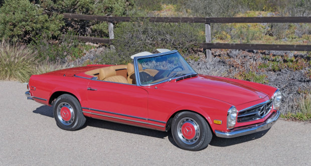 1969 Mercedes 280SL Roadster = Pagoda Manual Correct  $79.5k For Sale (picture 1 of 6)