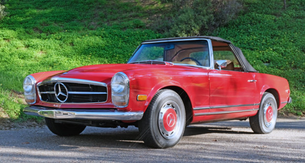 1969 Mercedes 280SL Roadster = Pagoda Manual Correct  $79.5k For Sale (picture 2 of 6)