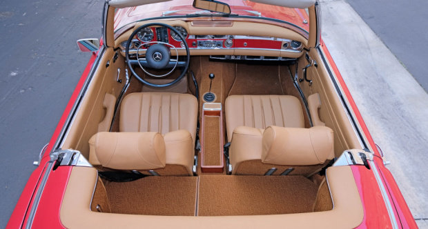 1969 Mercedes 280SL Roadster = Pagoda Manual Correct  $79.5k For Sale (picture 3 of 6)